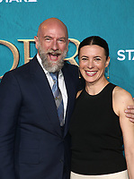 "HOLLYWOOD, CA - FEBRUARY 13: Graham McTavish, Garance Doré, at the Premiere Of Starz's ""Outlander"" Season 5 at HHollywood Palladium in Hollywood California on February 13, 2020. Credit: Faye Sadou/MediaPunch"