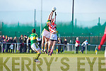Kerry in action against   Cork IT in the semi final of the McGrath Cup at John Mitchells Grounds on Sunday.