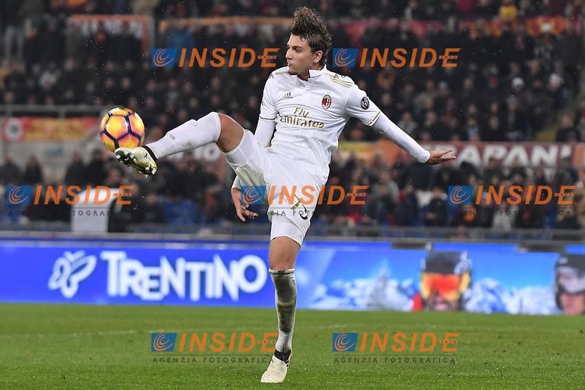 Manuel Locatelli Milan <br /> Roma 12-12-2016 Stadio Olimpico Football <br /> Campionato Serie A 2016/2017 <br /> AS Roma - Milan <br /> Foto Andrea Staccioli / Insidefoto