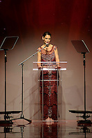 www.acepixs.com<br /> February 9, 2017  New York City<br /> <br /> Katie Holmes on the runway at the American Heart Association's Go Red For Women Red Dress Collection 2017 presented by Macy's at Fashion Week at Hammerstein Ballroom on February 9, 2017 in New York City.<br /> <br /> Credit: Kristin Callahan/ACE Pictures<br /> <br /> <br /> Tel: 646 769 0430<br /> Email: info@acepixs.com