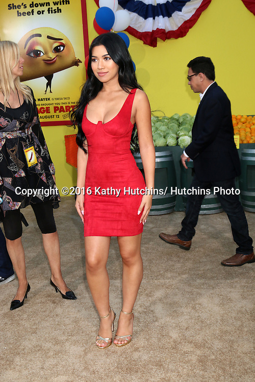 """LOS ANGELES - AUG 9:  Julia Kelly at the """"Sausage Party"""" Premiere at the Village Theater on August 9, 2016 in Westwood, CA"""