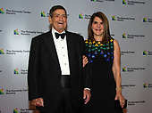 Former White House Chief of Staff for United States President Ronald Reagan Ken Duberstein and his wife, Jacqueline Fain, arrive for the formal Artist's Dinner honoring the recipients of the 41st Annual Kennedy Center Honors hosted by United States Deputy Secretary of State John J. Sullivan at the US Department of State in Washington, D.C. on Saturday, December 1, 2018. The 2018 honorees are: singer and actress Cher; composer and pianist Philip Glass; Country music entertainer Reba McEntire; and jazz saxophonist and composer Wayne Shorter. This year, the co-creators of Hamilton, writer and actor Lin-Manuel Miranda, director Thomas Kail, choreographer Andy Blankenbuehler, and music director Alex Lacamoire will receive a unique Kennedy Center Honors as trailblazing creators of a transformative work that defies category.<br /> Credit: Ron Sachs / Pool via CNP