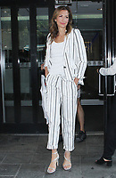 NEW YORK, NY - August 8: Alysia Reiner seen after an appearance on Good Day New York in New York City on August 08, 2018. <br /> CAP/MPI/RW<br /> &copy;RW/MPI/Capital Pictures