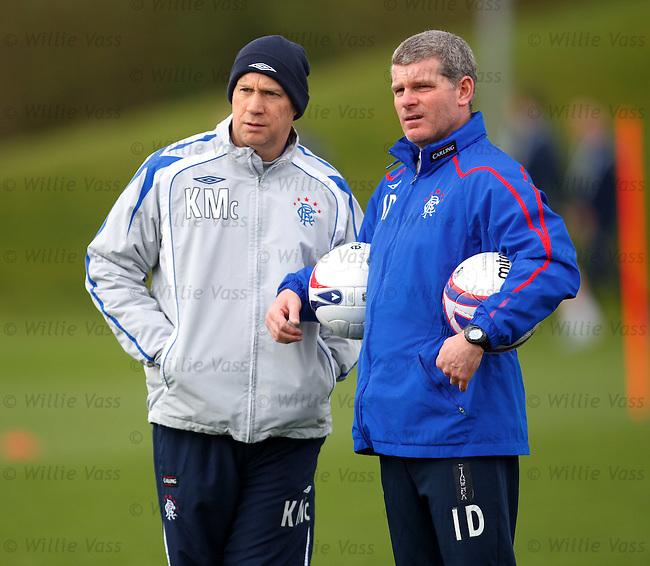 Kenny McDowall and Ian Durrant