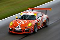 Porsche GT3 Cup Challenge USA<br /> Grand Prix of Alabama<br /> Barber Motorsports Park, Birmingham, AL USA<br /> Sunday 23 April 2017<br /> 42, Bill Smith, GT3G, USA, 2014 Porsche 991<br /> World Copyright: Jake Galstad<br /> LAT Images<br /> ref: Digital Image galstad-BARBER-0417-40188