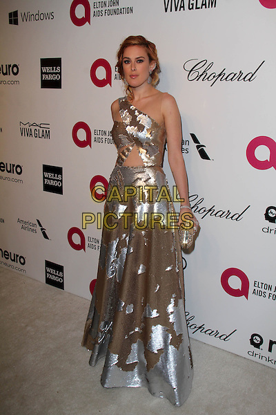 WEST HOLLYWOOD, CA - March 02: Rumer Willis at the 22nd Annual Elton John AIDS Foundation Oscar Viewing Party, Private Location, West Hollywood,  March 02, 2014. <br /> CAP/MPI/JO<br /> &copy;JO/MPI/Capital Pictures