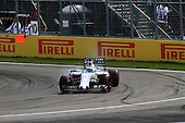 Felipe Massa (Brezil) of team Formula 1 Williams at the hairpin turn of the Grand Prix of Canada race on June 7th 2015