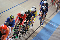 Picture by SWpix.com - 02/03/2018 - Cycling - 2018 UCI Track Cycling World Championships, Day 3 - Omnisport, Apeldoorn, Netherlands - Men's Points Race - Regan Glough of New Zealand