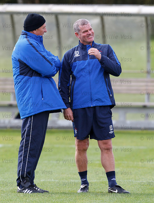 Walter Smith and Ian Durrant