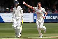 Peter Siddle of Essex claims the wicket of Gary Ballance during Essex CCC vs Yorkshire CCC, Specsavers County Championship Division 1 Cricket at The Cloudfm County Ground on 7th July 2019
