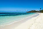 Honeymoon Bures along South Beach, part of Mana Island Resort and Spa on Mana Island in the Mamanucas, Fiji