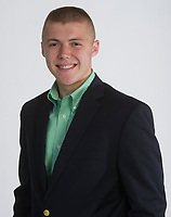 NWA Democrat-Gazette/ANTHONY REYES @NWATONYR<br /> Zeke Laird of Prairie Grove High School is one of the 2017 Academic All-Star Team Thursday, May 4, 2017 at the Northwest Arkansas Democrat-Gazette office in Springdale.