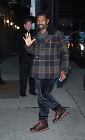 NEW YORK, NY - JANUARY 22: Deon Cole at The Late Show with Stephen Colbert in New York City on January 22, 2018.  Credit: RW/MediaPunch