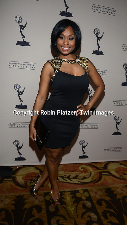 Angel Cornwell attends the Academy Of Television Arts & Science Daytime Programming  Peer Group Celebration for the 40th Annual Daytime Emmy Awards Nominees party on June 13, 2013 at the Montage Beverly Hills in Beverly Hills, California.