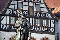 Deutschland, Jena in Thüringen, Haufrieddenkmal vor Museum