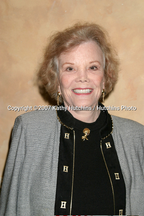 Nanette Fabray.Pacific Pioneers Broadcasting Luncheon IHO Eric Braeden.Sportsman's Lodge.Studio City,  CA.January 19, 2007.©2007 Kathy Hutchins / Hutchins Photo.