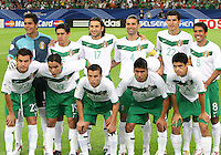 Mexico starting eleven. Portugal defeated Mexico 2-1 in their FIFA World Cup Group D match at FIFA World Cup Stadium, Gelsenkirchen, Germany, June 21, 2006.
