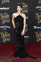 www.acepixs.com<br /> <br /> March 2 2017, LA<br /> <br /> Niki Koss arriving at the premiere of Disney's 'Beauty And The Beast' at the El Capitan Theatre on March 2, 2017 in Los Angeles, California.<br /> <br /> By Line: Famous/ACE Pictures<br /> <br /> <br /> ACE Pictures Inc<br /> Tel: 6467670430<br /> Email: info@acepixs.com<br /> www.acepixs.com