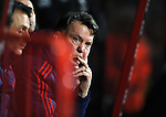 An unhappy Manchester United Manager Louis van Gaal<br /> - Barclays Premier League - Bournemouth vs Manchester United - Vitality Stadium - Bournemouth - England - 12th December 2015 - Pic Robin Parker/Sportimage