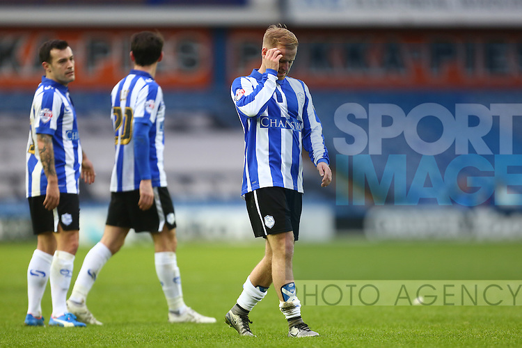 Wednesday's Barry Bannan dejected - Sheffield Wednesday vs Derby County - Skybet Championship - Hillsborough - Sheffield - 06/12/2015 Pic Philip Oldham/SportImage