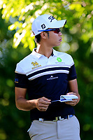 Danthal Boonma (THA) during the first round of the Lyoness Open powered by Organic+ played at Diamond Country Club, Atzenbrugg, Austria. 8-11 June 2017.<br /> 08/06/2017.<br /> Picture: Golffile | Phil Inglis<br /> <br /> <br /> All photo usage must carry mandatory copyright credit (&copy; Golffile | Phil Inglis)