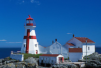 lighthouse, Campobello Island, New Brunswick, Canada, Bay of Fundy, East Quoddy Head Lighthouse on the Bay of Fundy.