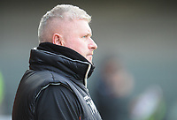 Blackpool's Manager Terry McPhillips<br /> <br /> Photographer Kevin Barnes/CameraSport<br /> <br /> Emirates FA Cup First Round - Exeter City v Blackpool - Saturday 10th November 2018 - St James Park - Exeter<br />  <br /> World Copyright &copy; 2018 CameraSport. All rights reserved. 43 Linden Ave. Countesthorpe. Leicester. England. LE8 5PG - Tel: +44 (0) 116 277 4147 - admin@camerasport.com - www.camerasport.com