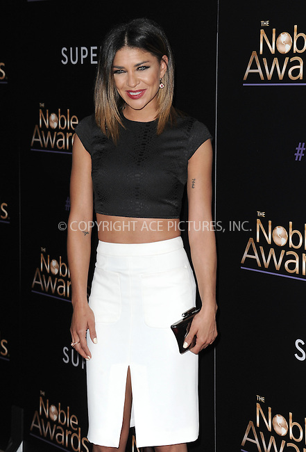WWW.ACEPIXS.COM<br /> <br /> February 27 2015, LA<br /> <br /> Jessica Szohr arriving at the 3rd Annual Noble Awards at The Beverly Hilton Hotel on February 27, 2015 in Beverly Hills, California.<br /> <br /> <br /> By Line: Peter West/ACE Pictures<br /> <br /> <br /> ACE Pictures, Inc.<br /> tel: 646 769 0430<br /> Email: info@acepixs.com<br /> www.acepixs.com