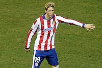 Atletico de Madrid's Fernando Torres during La Liga match.January 24,2015. (ALTERPHOTOS/Acero) /NortePhoto<br /> NortePhoto.com