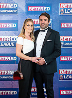 Picture by Allan McKenzie/SWpix.com - 25/09/2018 - Rugby League - Betfred Championship & League 1 Awards Dinner 2018 - The Principal Manchester- Manchester, England - Red carpet, James Ford.
