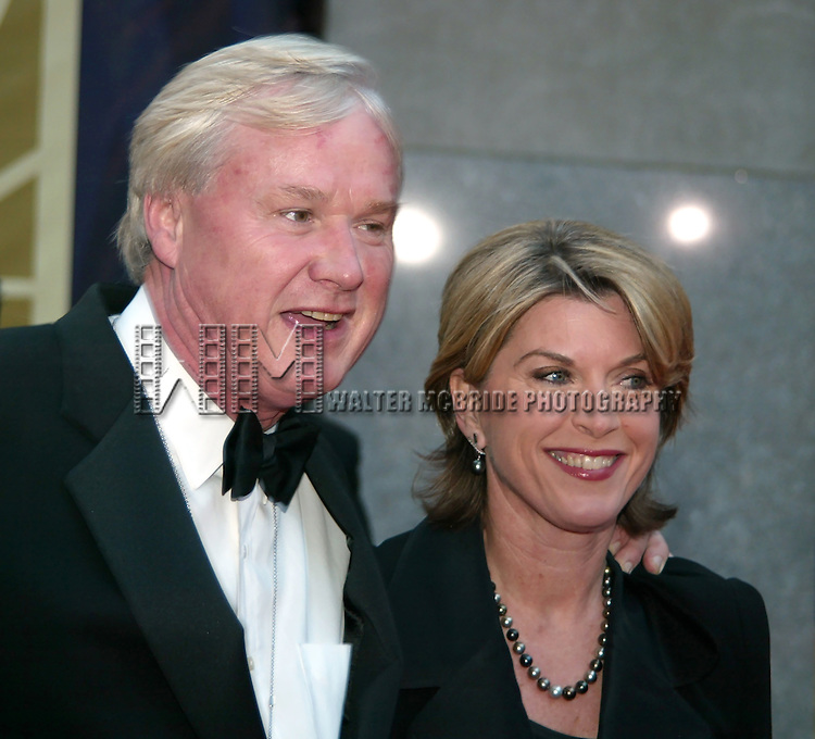 Chris Matthews and wife Kathleen Matthews<br /> NBC's 75th Anniversary Gala Celebration<br /> Rockefeller Center, New York City<br /> May 5, 2002