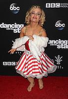"Los Angeles, CA - NOVEMBER 22: Terra Jolé, At ABC's ""Dancing With The Stars"" Season 23 Finale At The Grove, California on November 22, 2016. Credit: Faye Sadou/MediaPunch"