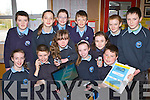 Students from Kilcummin NS who are gathering numbers of local businesses and services for a new directory they are making as part of their business venture for the Junior Entrepreneur Programme front row l-r: Emily Kehoe, Niall Daly, Mary Murphy, David Sugrue. Cillian O'Donoghue, Isabel Kehoe, Leah O'Brien, Emily Egan, Darragh O'Brien, Natasha Keane, Kate Maher and DJ O'Leary.