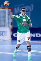 Algeria's Saci Boultif during 23rd Men's Handball World Championship preliminary round match.January 14,2013. (ALTERPHOTOS/Acero) 7NortePhoto