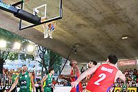 SÃO PAULO, SP, 10.02.2019 - BRASIL-EUA - Partida final de basquete entre Brasil e Estados Unidos valida  do Desafio Internacional de Basquete no Vale do Anhangabaú, região central de São Paulo, neste domingo, 10. ( Foto: Charles Sholl/Brazil Photo Press/Folhapress)