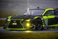 #12 AIM VASSER SULLIVAN (USA) LEXUS RC F GT3 GTD LEXUS FRANK MONTECALVO (USA) TOWNSEND BELL (USA) AARON TELITZ (USA) JEFF SEGAL (USA)