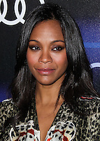 WEST HOLLYWOOD, CA, USA - AUGUST 21: Zoe Saldana at the Audi Emmy Week Celebration 2014 held at Cecconi's Restaurant on August 21, 2014 in West Hollywood, California, United States. (Photo by Xavier Collin/Celebrity Monitor)