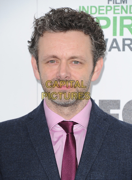 SANTA MONICA, CA, MARCH 01: Michael Sheen at The 2014 Film Independent Spirit Awards held at Santa Monica Beach in Santa Monica, California, USA on March 1st, 2014.                                                                              <br /> CAP/DVS<br /> &copy;Debbie VanStory/Capital Pictures