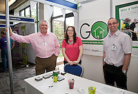 From left, Jonathan Detheridge, Lauren Veale and Phil Wardle from Go Property