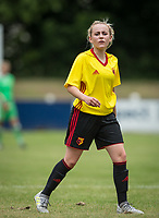 Kerry Walklett of Watford Ladies during the pre season friendly match between Stevenage Ladies FC and Watford Ladies at The County Ground, Letchworth Garden City, England on 16 July 2017. Photo by Andy Rowland / PRiME Media Images.