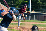 NAUGATUCK , CT-072920JS02—Naugatuck's Darrick Jagell0 (10) delivers a pitch during their CT Elite Baseball Association's game against Bethel Wednesday at Naugatuck High School. <br />  Jim Shannon Republican-American