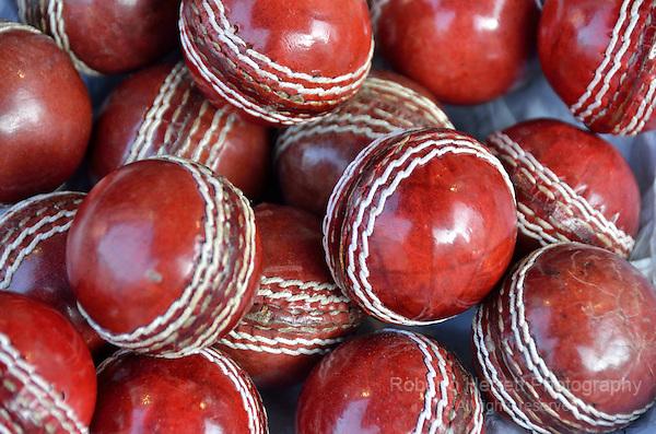 Red cricket balls