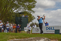 Louis Oosthuizen (RSA) watches his tee shot on 3 during day 2 of the World Golf Championships, Dell Match Play, Austin Country Club, Austin, Texas. 3/22/2018.<br /> Picture: Golffile | Ken Murray<br /> <br /> <br /> All photo usage must carry mandatory copyright credit (&copy; Golffile | Ken Murray)