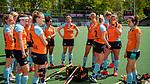AMSTELVEEN  -  team Groningen,  Hoofdklasse hockey dames ,competitie, dames, Amsterdam-Groningen (9-0) .     COPYRIGHT KOEN SUYK