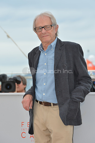 Ken Loach at the Photocall &acute;I, Daniel Blake` - 69th Cannes Film Festival on May 13, 2016 in Cannes, France.<br /> CAP/LAF<br /> &copy;Lafitte/Capital Pictures /MediaPunch ***NORTH AND SOUTH AMERICA ONLY***