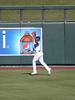 Monte Harrison - Salt River Rafters - 2017 Arizona Fall League (Bill Mitchell)