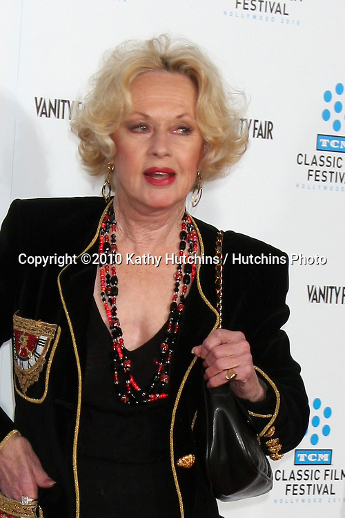 ".Tippi Hedren.arrives at the ""A Star is Born"" Restored Print World Premiere , part of the Turner Classic Movie Channel Classic Movie Festival.Grauman'S Chinese.Los Angeles, CA.April 22, 2010.©2010 Kathy Hutchins / Hutchins Photo..."