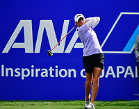 Stacy Lewis of the United States, plays her shot from the first tee during the Final round of the ANA Inspiration at the Mission Hills Country Club in Palm Desert, California, USA. 4/1/18.<br /> <br /> Picture: Golffile | Bruce Sherwood<br /> <br /> <br /> All photo usage must carry mandatory copyright credit (&copy; Golffile | Bruce Sherwood)during the second round of the ANA Inspiration at the Mission Hills Country Club in Palm Desert, California, USA. 4/1/18.<br /> <br /> Picture: Golffile | Bruce Sherwood<br /> <br /> <br /> All photo usage must carry mandatory copyright credit (&copy; Golffile | Bruce Sherwood)