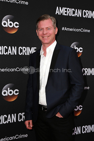 LOS ANGELES, CA - FEBRUARY 28: Michael MacDonald at the American Crime Premiere at the Ace Hotel in Los Angeles, California on February 28, 2015. Credit: David Edwards/DailyCeleb/MediaPunch