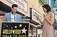 LOS ANGELES, CA. March 25, 2019: Shane West & Mandy Moore at the Hollywood Walk of Fame Star Ceremony honoring actress & singer Mandy Moore.<br /> Pictures: Paul Smith/Featureflash